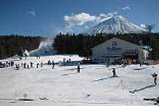 Mt Fuji ski tour. ( From middle of December to March )