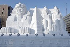 Snow and Ice festival in Sapporo 3 days